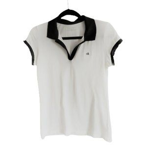 2/$40 Vintage 90s Calvin Klein polo T shirt